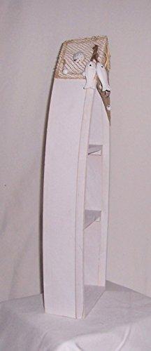 AAF Nommel ® Bootsregal 02, Stand- oder Hängeregal 48,5 x 19,5 x 7,5 cm - 3