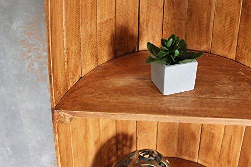 Exotisches Holz Bootsregal Regal Boot hellbraun 195cm - 4