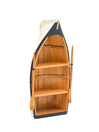 Regal-Boot Holz Maritime
