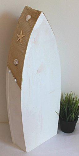 AAF Nommel ® Bootsregal 01, Stand- oder Hängeregal Nautico 61,5 x 25,5 x 9,5 cm - 5