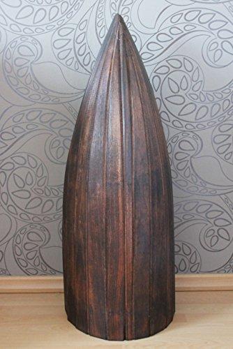 Naturesco Exotisches Bootsregal Regal Boot Holz dunkelbraun 95cm - 4