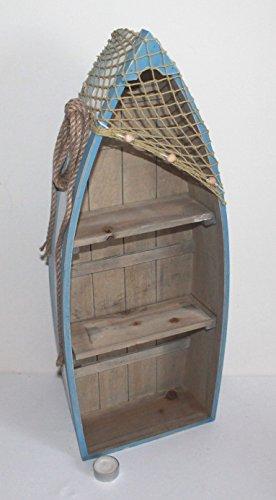 AAF Nommel Boot Regal 61 x 24 x 9 cm, Kiefernholz