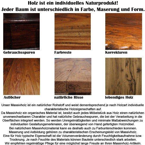 Bootsregal BAROS Dekoregal Holzregal Boot Regal Bücherregal 145cm Shabby - 7
