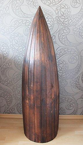 Exotisches Set Bootsregal Regal Boot Holz dunkelbraun 145cm und 95cm - 4