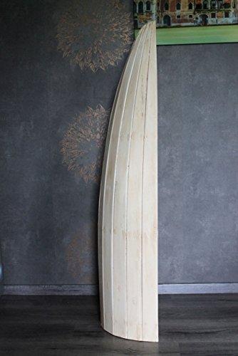 Naturesco Exotisches Set Bootsregal Regal Boot Holz natur 145cm und 95cm - 3