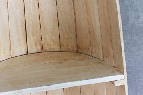 Naturesco Exotisches Set Bootsregal Regal Boot Holz natur 145cm und 95cm - 4